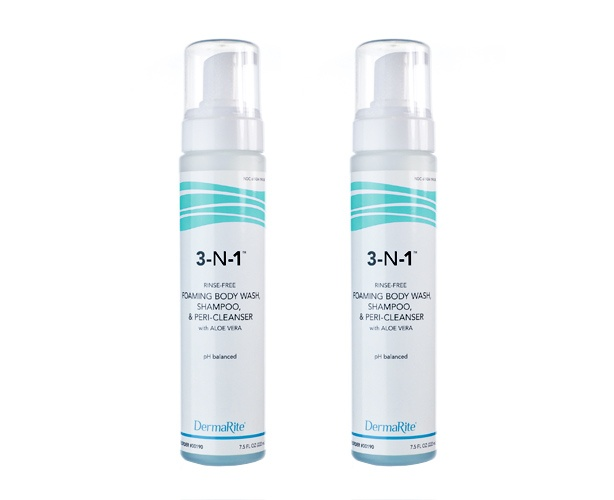 Dermarite Industries 3-in-1 Cleansing Foam