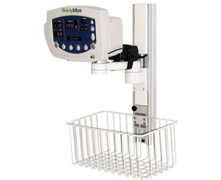 Wall Mount with Basket for Vital Signs Monitor 300