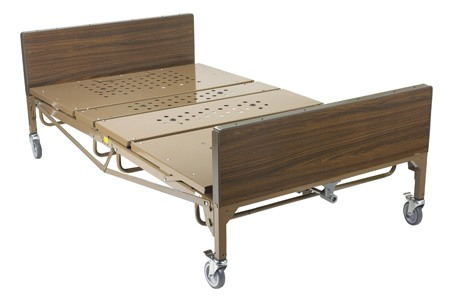 Drive Medical Full Electric Bariatric Bed, 54 in. Width