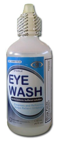 Eye Wash Solution, 4 oz bottle