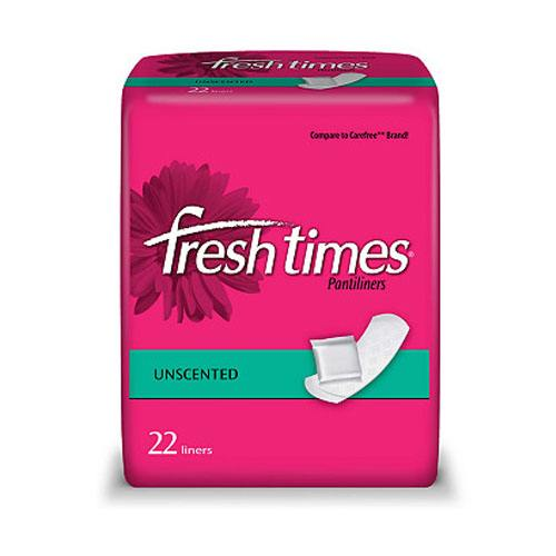 Fresh Times Pantiliners, Unscented
