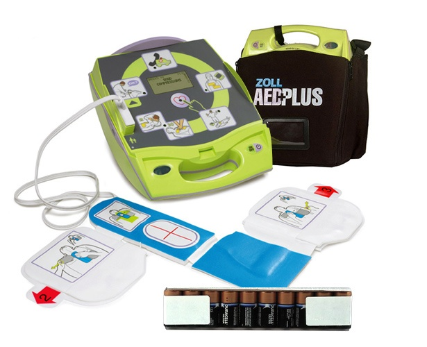 Zoll AED Plus Defibrillator with Kit