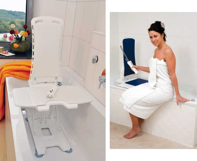 Drive Medical Covers for the Bellavita Auto Bath Tub Chair Seat Lift