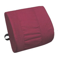 Memory Foam Contoured Lumbar Support Cushion