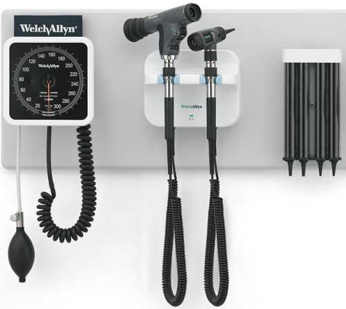 Green Series 777 Wall System w/PanOptic Ophthalmoscope