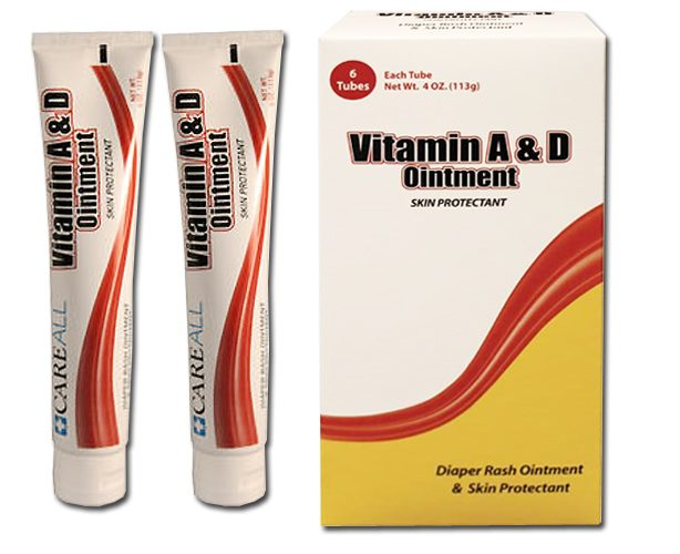 New World Imports Vitamin A&D Ointment