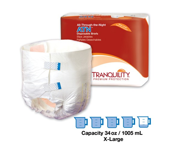 Samples - ATN All-Through-the-Night Disposable Briefs