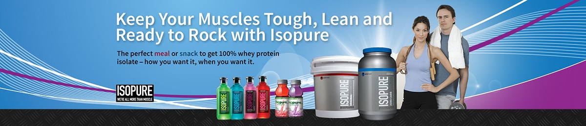 Isopure Drinks - Clear Liquid
