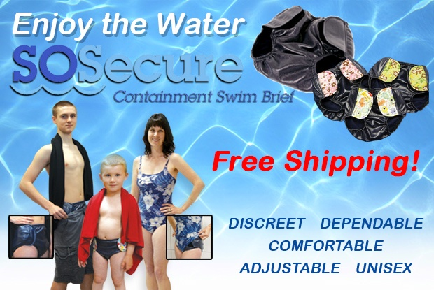 Sosecure Swim Containment Briefs