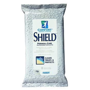 Sage Products Comfort Shield Wipes