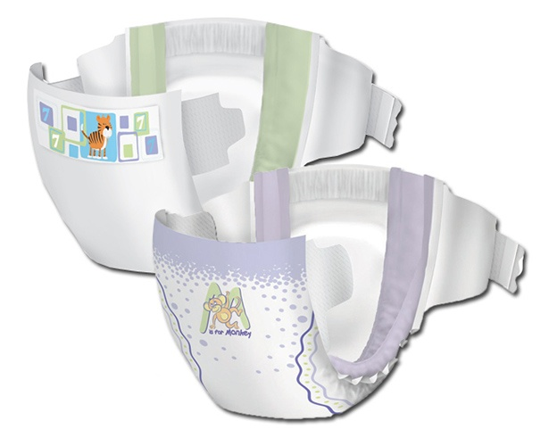 Incontinence Samples Samples - Cuties Premium Baby Diapers