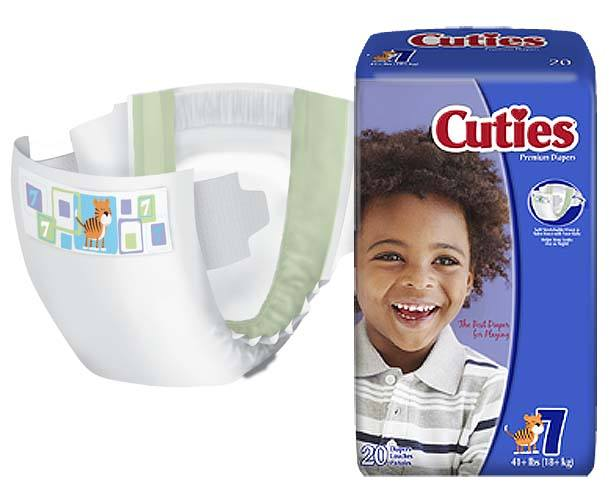 Cuties Premium Baby Diapers
