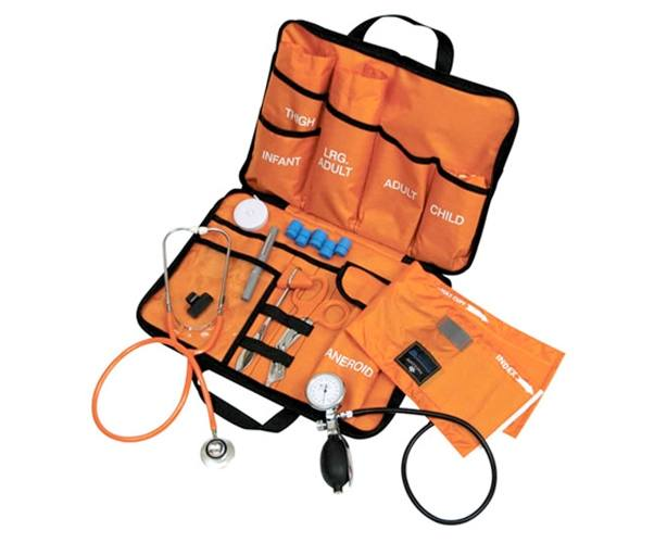 Mabis DMI All-in-One EMT Kit with Dual Head Stethoscope