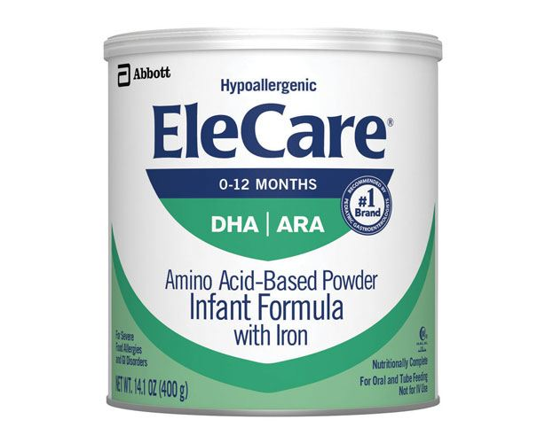 ABBOTT NUTRITION EleCare DHA/ARA Unflavored Infant Formula