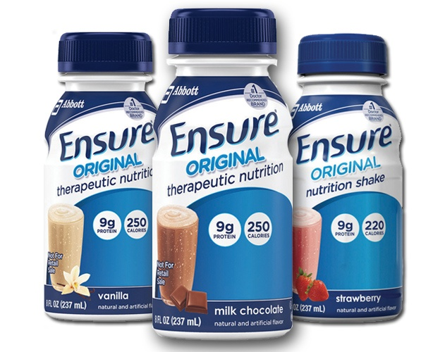 Abbott Nutrition Ensure Original Shake, Bottles