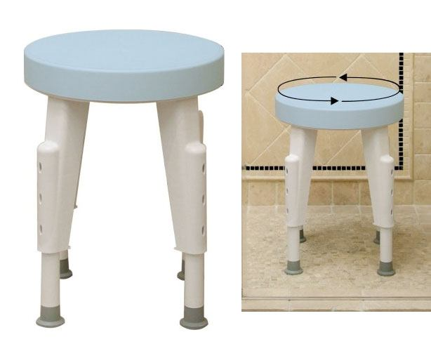 Maddak Ableware Rotating Shower Stool