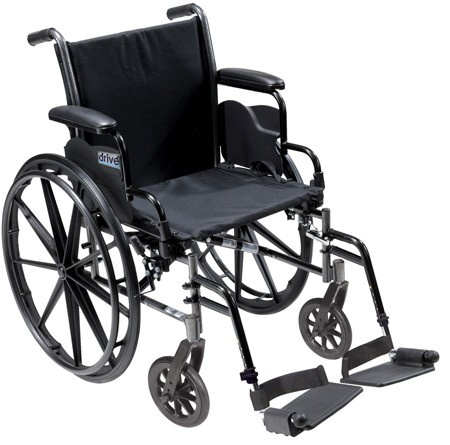 Cruiser lll Wheelchair- 20 in. Width