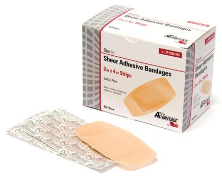 Pro Advantage Plastic Adhesive Bandages