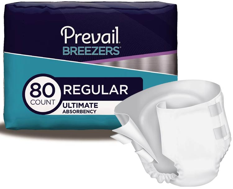 Incontinence Samples Samples - Prevail Breezers Adult Briefs