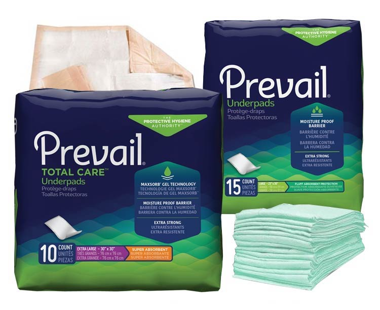 Attends Prevail Underpads