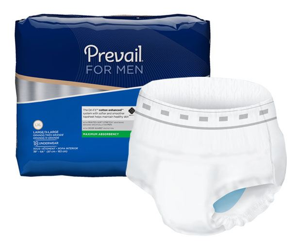 FIRST QUALITY PRODUCTS Prevail Underwear for Men