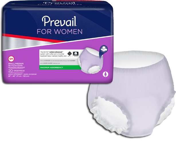 First Quality Products Samples - Prevail Underwear for Women