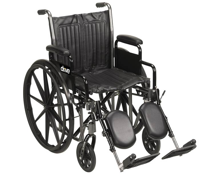 Drive Medical Silver Sport 2 Wheelchair- 20 in. width