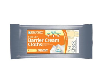 Sage Products Barrier Cream Wipes