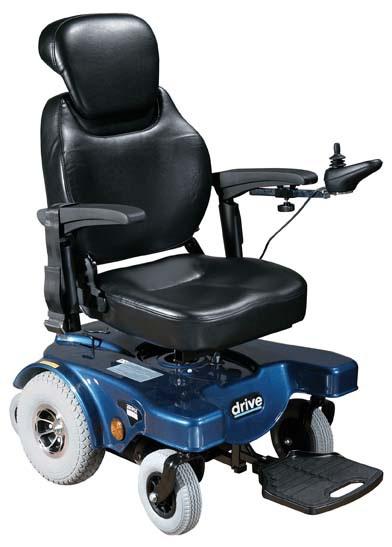 Sunfire General Rear Wheel Bariatric Power Wheelchair