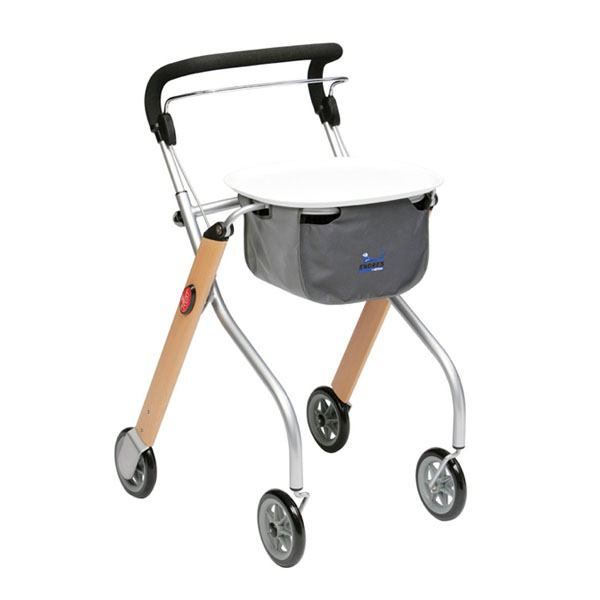Lets Go Indoor Lightweight Mobility Walker Rollator