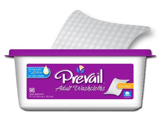 FIRST QUALITY PRODUCTS Prevail Premium Adult Washcloths