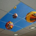 Acoustic Ceiling Tiles by Artificial Sky which are perfect for hospitals and offices.