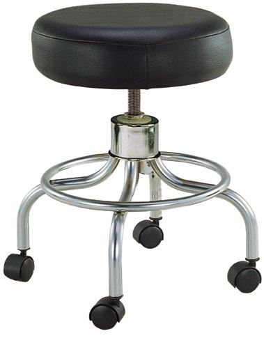 Revolving, Adjustable Height Stool