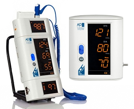American Diagnostic Corp Adview 9001 Vital Sign Monitor with Bluetooth