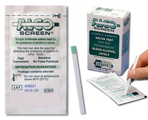 Chematics Inc. Alco-Screen Alcohol Test Strips
