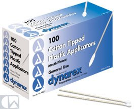 Dynarex Corp. Cotton Tipped Applicators