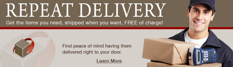 Save Time & Money with Repeat Delivery