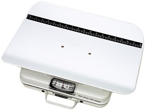 HEALTH-O-METER Portable Mechanical Baby Scale