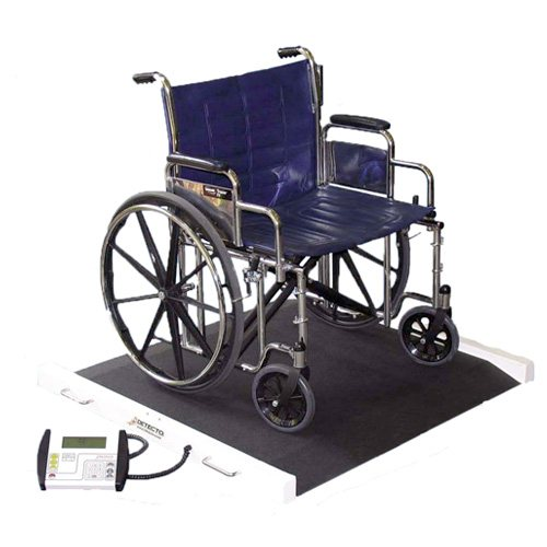 Detecto BRW1000 Portable Bariatric Wheelchair Scale