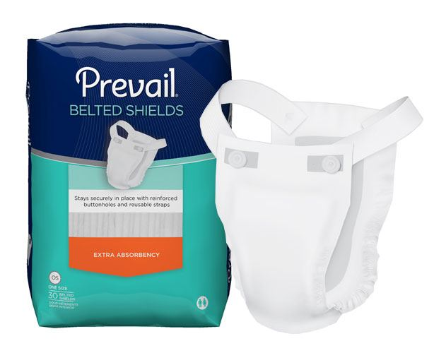 First Quality Products Prevail Belted Shields Undergarments