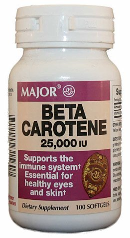Major Pharmaceuticals Major Beta Carotene