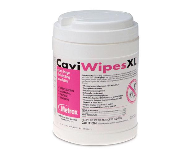 Metrex CaviWipes XL Surface Disinfectant Wipes