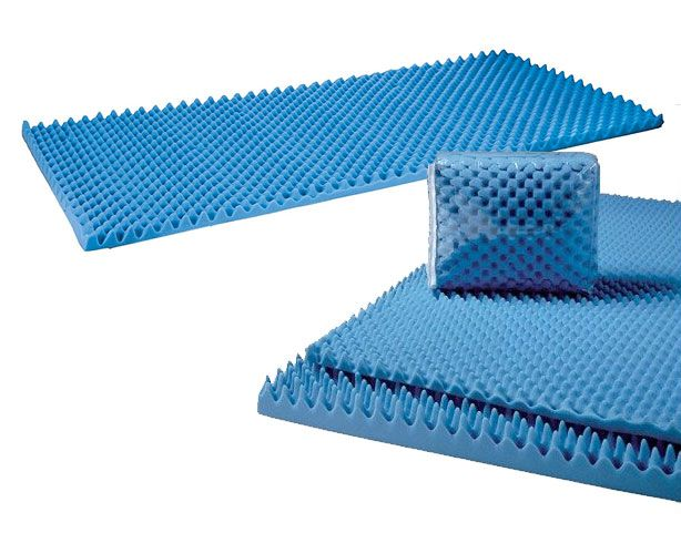 Convoluted Bed Pad (Egg Crates)