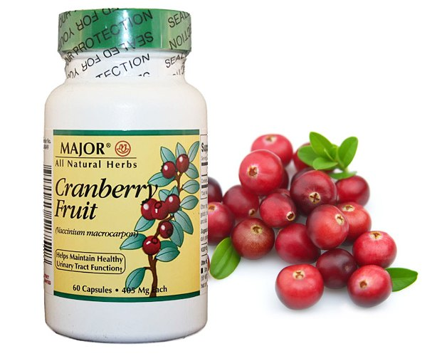 Major Pharmaceuticals Vibrant Health Cranberry Fruit