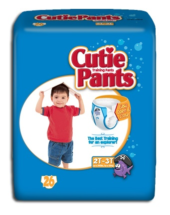Cuties Refastenable Training Pants - Boys