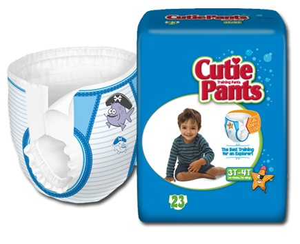 First Quality Products Cuties Refastenable Training Pants - Boys