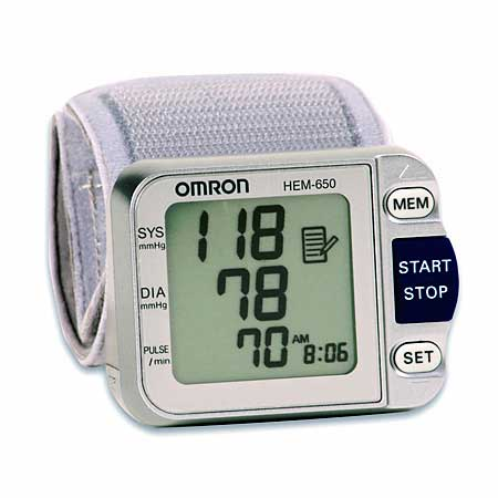 Omron Deluxe Blood Pressure Monitor with A.P.S.