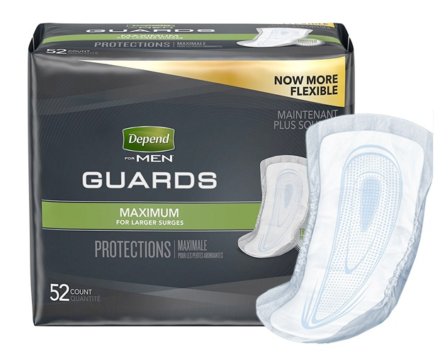 Kimberly Clark Depends Guard for Men
