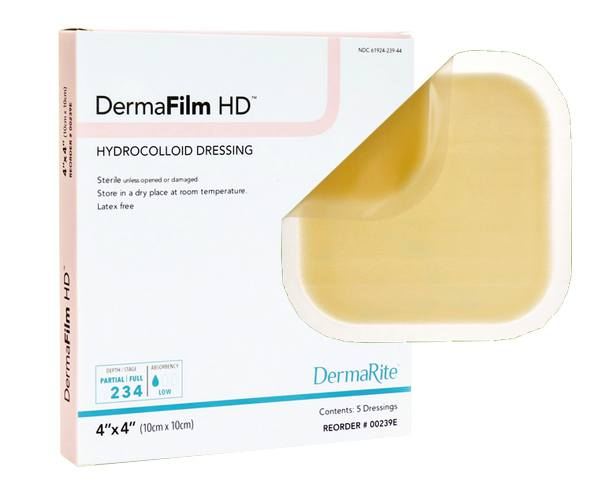 Dermarite Industries DermaFilm Wound/Hydrocolloid Dressing
