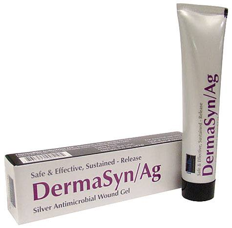 Dermarite Industries DermaSyn/AG Silver Antimicrobial Wound Gel